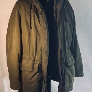 Old Navy Olive Carfo Jacket with Lining